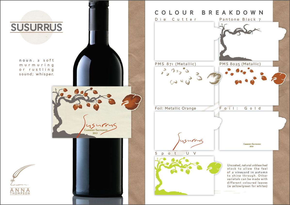 wine label designs h bee