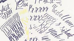 Brush Pen Lettering Training